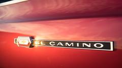 El Camino 2nd Gen mid '60s (fe2cruz) Tags: chevrolet chevy elcamino 28 30mm ca carshow emount ilce sigma socal sony southerncalifornia a7r alpha mirrorless α7r buenapark november 2018 elkslodge emblem badge badges logos car logo