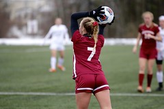 Sweet throw (stephencharlesjames) Tags: soccer college sports ncaa ball sport middlebury vermont swarthmore action womens