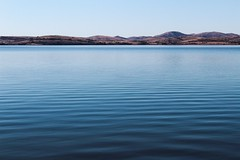 A quiet morning at the lake (katyearley) Tags: canonrebelt6 oklahoma hils blue nature still landscape water