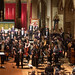 DSCN0322right Ealing Symphony Orchestra take a bow after performing Strauss Ein Heldenleben. Leader Peter Nall. Conductor John Gibbons. St Barnabas Church west London. 24th November 2018