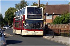 East Yorkshire 687 (Lotsapix) Tags: eastyorkshire goaheadgroup bus buses volvo b7tl plaxton president yx53aon hull