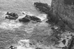 wave (Hideki-I) Tags: wave water sea kochi japan nikon d850 2470 blackandwhite bw 白黒 黑白 rock monochrome ngc