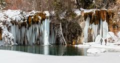 Hanging Lake (valentina425) Tags: colorado rocky mountains frozen waterfall glenwood springs winter january ic hanging lake