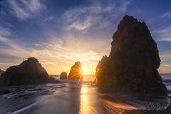 Rodeo Dreams (sberkley123) Tags: california longexposure z7 sunset nikon seastack marin rodeobeach ocean usa colors seascape sanfrancisco coast 1424mm pacific
