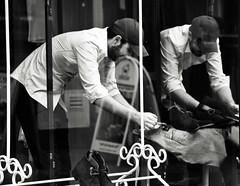 Sale Tag (Bury Gardener) Tags: monochrome mono burystedmunds bw blackandwhite britain 2019 england eastanglia uk nikond7200 nikon suffolk streetphotography street streetcandids snaps strangers candids candid people peoplewatching folks abbeygatestreet