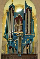 Saulieu : orgue de la basilique Saint-Andoche (odile.cognard.guinot) Tags: 21 orgue basiliquesaintandoche côtedor 2003 bourgogne bourgognefranchecomté