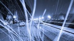 Lungarno Torrigiani (Go Ciop Go) Tags: firenze florence toscana tuscany italia italy neve snow nevicata snowfall inverno winter 2018 snowstorm blizzard night lungarno