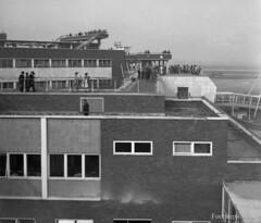 Heathrow Airport, 1956 (footstepsphotos) Tags: london heathrow airport 1956 building early air transport 1950s