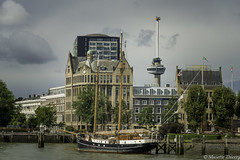 En pause (musette thierry) Tags: musette thierry d800 rotterdam europe port volier bate ar architecture mer sea nederland holande voyage