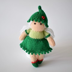 Holly the Elf (Knitting patterns by Amanda Berry) Tags: elf elves doll dolls toy toys handmade crafts crafting crafter crafters crafty knit knits knitted knitter knitters knitting pattern patterns holly amanda berry fluff fuzz christmas xmas festive holidays picot flat straight dk yarn wool hand make making maker makers designer indie