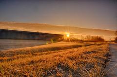 Frosty Sunburst (kendoman26) Tags: sunrise sunburst frost nikhdrefexpro2 hdr nikon nikond7100 tokinaatx1228prodx tokina tokina1228 morrisillinois
