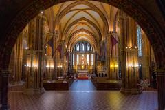 Mátyás-templom (Matthias church in Budapest, Hungary) (The Cuman) Tags: nikon nikond7100 sigma avásárlásfolyamatakezdőlapfényképezőgépekobjektívekobjektívekzoommalsigma1770mmf284dcmacrooshsm werner church hungary budapest buda mátyástemplom colors