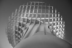 Metropol Parasol (serie - 04) (ricardocarmonafdez) Tags: sevilla ciudad city urbanscape cityscape setas metropol parasol sunlight light shadows contrast contraste arquitectura architecture structure monocromo monochrome blackandwhite bn nikon d850 24120f4gvr