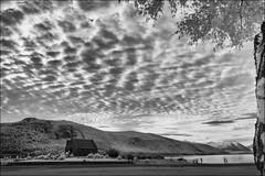F_DSC4317-BW-1-Nikon D90-Nikkor 18-85mm-May Lee 廖藹淳 (May-margy) Tags: maymargy bw 黑白 紅外線攝影 風景 landscape fdsc4317bw1 irphotography churchofthegoodshepherd clouds laketekapo people portrait silhouette backlighting streetviewphotography 街拍 幾何構圖 點人 humaningeometry humanelement southisland newzealand nikond90 nikkor1885mm maylee廖藹淳 台灣攝影師 taiwanphotographer 魚鱗雲 南島 紐西蘭 人像 逆光 剪影