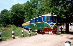 Pionierbahn / Children's railway Lviv: TU3-039 Lviv 25052003 A (Paul-760) Tags: uz ukraine oekraine ukrain lviv lvov childrens railway pionierbahn 750mm tu3 ty3 ckd tu47