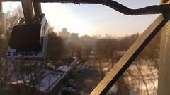 Be loved, be happy and love. (dervis.barutcu) Tags: ukraine kiev lg g4 love lock bridge winter cold