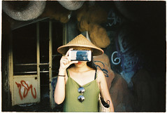 (grousespouse) Tags: vietnam 35mm analog film nikonf3 nikonseriese 28mm f28 wideangle kodakvision250d daylight cinematic cinema cinemafilm analogue indoors abandoned themepark waterpark portrait vietnamese surreal scanned moody dreamy dreamlike hothuytien hue vision croplab grousespouse 2018