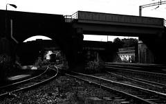 Winding Away From Washwood (Wulfruna) Tags: 6e07 grid 56078 colas steel freight railway diesel locomotive bostonsteel uk england washwoodheath signal points bridge