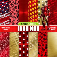 Iron Man, Tony, Stark, Marvel, America, Backgrounds, craft, scrapbook,cartoon, animation,digital paper pack, printable papers, Instant download (scrapbook digital papers) Tags: ironman tony stark marvel america backgrounds craft scrapbook cartoon animation digitalpaperpack printablepapers instantdownload