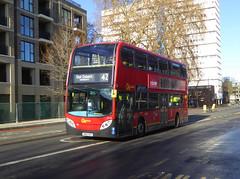 GAL E133 - SN60BZE - CAMBERWELL ROAD - THUR 17TH JAN 2019 (Bexleybus) Tags: camberwell road se5 london goahead go ahead adl dennis enviro 400 tfl route 42 e133 sn60bze
