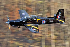 RAF Tucano, 72(R) Sqn, LFA17, 9/1/19 (TheSpur8) Tags: landlocked trainers aircraft date uk tucano lakedistrict lowlevel military anationality skarbinski transport 2019 places