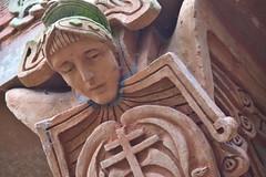 Terracotta Angel (PLawston) Tags: uk britain england surrey north downs compton watts chapel terracotta angel