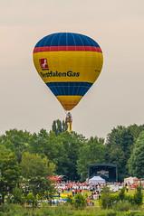 2013_Mongolfiade_Münster-4 (Joachim Spenrath Münster, Germany) Tags: outdoor air ballon ballonfahren ballooning borderfx europe germany glow illumination mongolfiade night nrw montgolfiade hot münster deutschland aasee