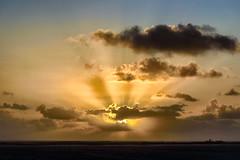 Grand Turk Sunrise (Mustang Joe) Tags: public cruise d750 nikon newyears domain caribbean sunrise grand turk island clouds rays crepuscular