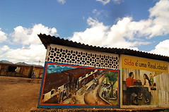 MOZ-Cuamba-0703-15-v1 (anthonyasael) Tags: advertisement africa afrika aids architecture art artifact building campaign cloud clouds communicate communicating communication condom countryside creativeness creativity cuamba disease display displayed health hiv inform information informative land mocambique mozambique mural noone nopeople nobody paint painted prevention roof script sida sky southernafrica structure mozambiquemocambique moz