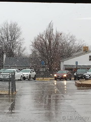 January 18, 2019 - A quick hit of snow. (LE Worley)