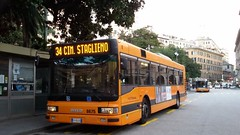 AMT 8675 (Lu_Pi) Tags: amt genova autobus bus bususato atmmilano iveco iveco491 cityclass cityclasscursor principe amtgenovalinea34 staglieno cimiterostaglieno