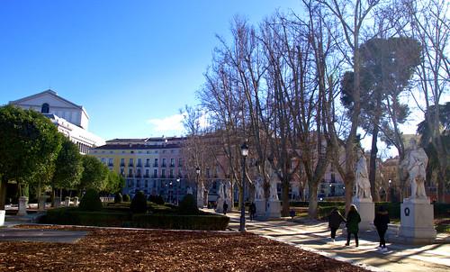 PLAZA DE ORIENTE, MADRID DE LOS AUSTRIAS 8728  3-2-2019