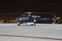 Belgian Air Component Alouette III (nickchalloner) Tags: raf northolt nht egwu royal air force nightshoot night shoot xxvi m3 aerospatiale sa316b sa316 alouette iii belgian component navy belgium