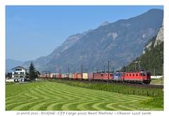 Re 20/20 SBB Cargo - Erstfeld (CC72080) Tags: re44 re420 re620 re66 re1010 re2020 cff sbb ffs cargo locomotive lokomotive güterzug zug train marchandise erstfeld