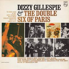 Dizzy Gillespie & The Double Six of Paris (oopswhoops) Tags: vinyl album french jazz bop dizzy doublesix vocals philips