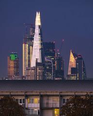 Spaceship London (JH Images.co.uk) Tags: london sky skyline shard city cityscape gherkin night hdr dri tower42 skyscraper skyscrapers