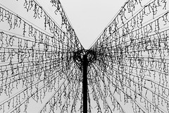Light (Von Noorden) Tags: city town streetphotography hamburg noiretblanc wand black white blackandwhite bw sw schwarzweiss topv germany schwarz weiss weis schwarzweis lübeck deutschland lightstring light string lights christmas xmas weihnachten santa claus weihnachtsdeko deko deco sky weihnachtsmarkt market blackwhite post decoration dresden europe detail details macro canon 450 holy experimental exspired expire test experiment fail grey dark monochrome monocrome monotone plain