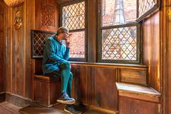 Haute-Koenigsbourg Alsace (karlheinz klingbeil) Tags: wood castle schloss window chateau tights fashion menschen mode hdr collant interior strumpfhose frankreich fenster alsace manninstrumpfhose people menintights france burg holz hautkoenigsbourg orschwiller départementbasrhin fr