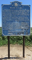 Welcome to Illinois Marker (Pike County, Illinois) (courthouselover) Tags: illinois il pikecounty illinoishistoricalmarkers northamerica unitedstates us