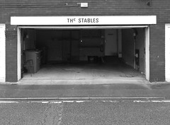 Stables in Preston. Really? (Tony Worrall) Tags: preston lancs lancashire city welovethenorth nw northwest north update place location uk england visit area attraction open stream tour country item greatbritain britain english british gb capture buy stock sell sale outside outdoors caught photo shoot shot picture captured ilobsterit instragram entrance doorway portal stables undertakers