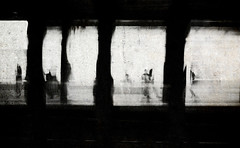 blink, New York state of mind (Lamson/Ng) Tags: nyc metro blur street urban lamson mono bw blackandwhite people everydaylife frames hink this melting pot