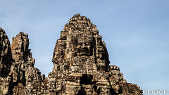 Bayon in Cambodia (Lцdо\/іс) Tags: bayon cambodge cambodia face rock temple hindou asia asian asie asiatique construction oldcity old street lцdоіс travel discover