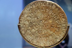 Phaistos Disk (Seoirse) Tags: phaistos disk minoan crete clay