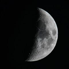 Moon, 1100mm, hand-held (Ultrapurple) Tags: d850 moon handheld night 1100mm 80400mm