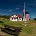 West Quoddy Head Visitor's Center and Lighthouse