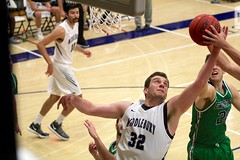 Big center (stephencharlesjames) Tags: basketball college sports ball sport action ncaa middlebury vermont endicott