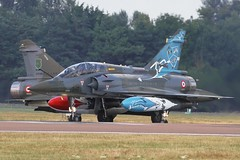 (scobie56) Tags: dassault mirage 2000n ec 33 ardennes 133 3rd wing nancyochey air base couteau delta tactical display team armee de lair riat 2018 fairford royal international tattoo