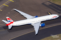 G-STBC BA B77W 34L YSSY-2109 (A u s s i e P o m m) Tags: britishairways ba speedbird boeing b77w b777300er syd yssy sydneyairport sydney newsouthwales australia au