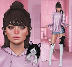 L228 (JoJo Delvalle - Photographer & blogger) Tags: secondlife game virtual doll 3d cute pink taketomi glamaffair epiphany kitja arcade sweetthing noticemesantapai belleposes