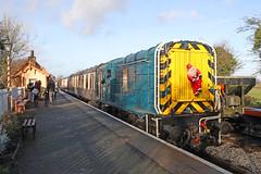D3668 BR Class 09 shunter (Roger Wasley) Tags: d3668 br class09 diesel britishrailways shunter blunsdon swindonandcricklade railway trains heritage preservation 09004 060 santaspecial